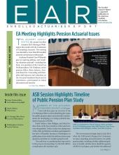 Enrolled Actuaries Report