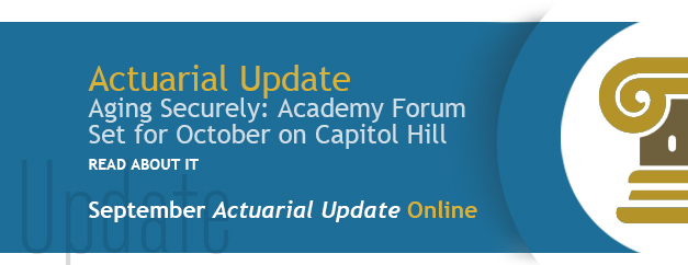 New Slide 2 - Actuarial Update